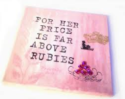 Virtuous Woman - Rubies